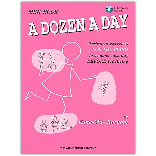 Willis Music A Dozen A Day Mini  Book Bk/CD