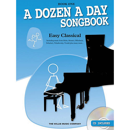 Music Sales A Dozen a Day Songbook - Easy Classical, Book One Willis Series Softcover with CD Composed by Various-thumbnail