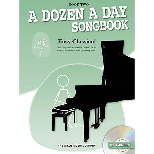 Music Sales A Dozen a Day Songbook - Easy Classical, Book Two Willis Series Softcover with CD Composed by Various-thumbnail
