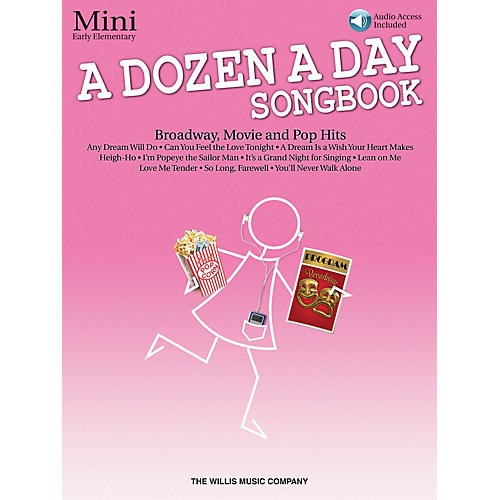 Willis Music A Dozen a Day Songbook - Mini (Early Elem Level) Willis Series Book with CD by Various (Level Early Elem)-thumbnail