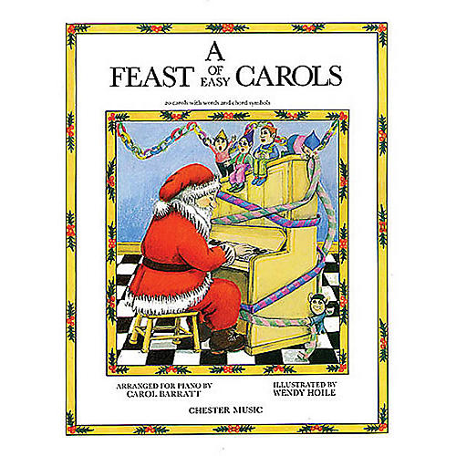 Music Sales A Feast Of Easy Carols Music Sales America Series-thumbnail