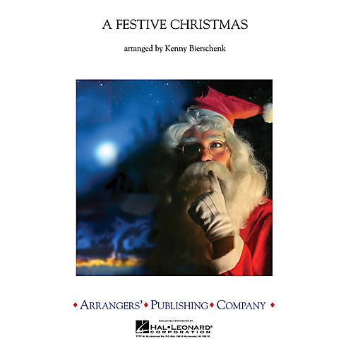 Arrangers A Festive Christmas Concert Band Level 3 Arranged by Kenny Bierschenk-thumbnail