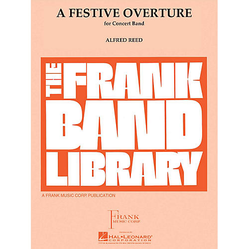 Hal Leonard A Festive Overture Concert Band Level 4 Composed by Alfred Reed-thumbnail