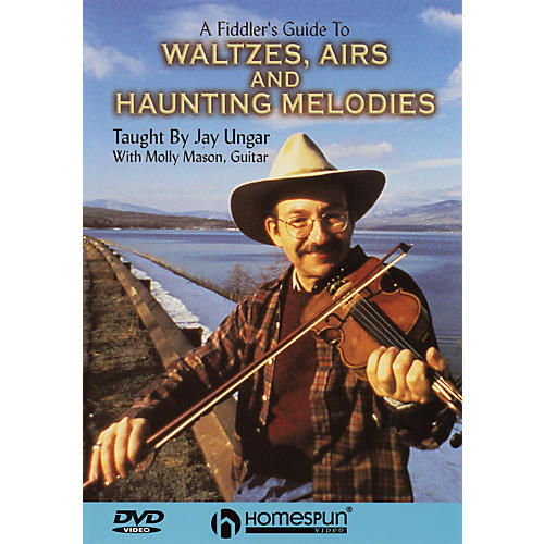 Homespun A Fiddler's Guide to Waltzes, Airs and Haunting Melodies DVD/Instructional/Folk Instrmt DVD by Jay Ungar-thumbnail