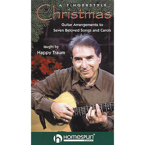 Homespun A Fingerstyle Christmas (VHS)