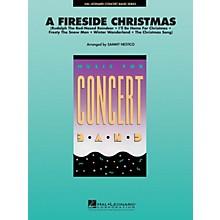 Hal Leonard A Fireside Christmas Concert Band Level 4 Arranged by Sammy Nestico