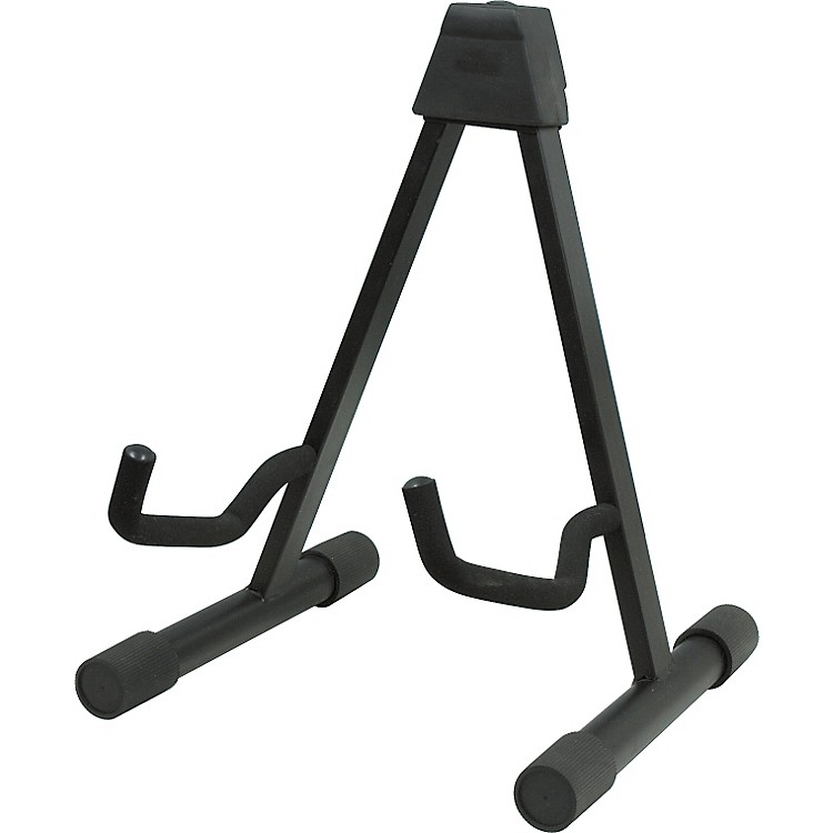 Musician's Gear A-Frame Acoustic Guitar Stand Black