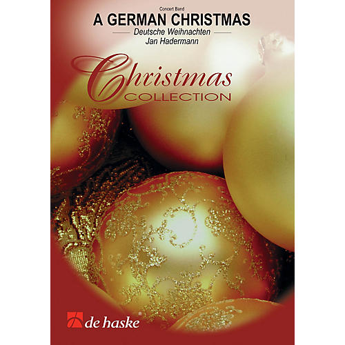 De Haske Music A German Christmas De Haske Brass Band Series Arranged by Jan Hadermann-thumbnail