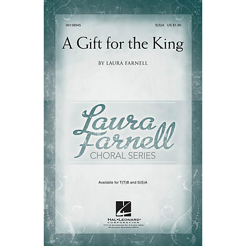 Hal Leonard A Gift for the King SA with optional 2nd sop composed by Laura Farnell-thumbnail