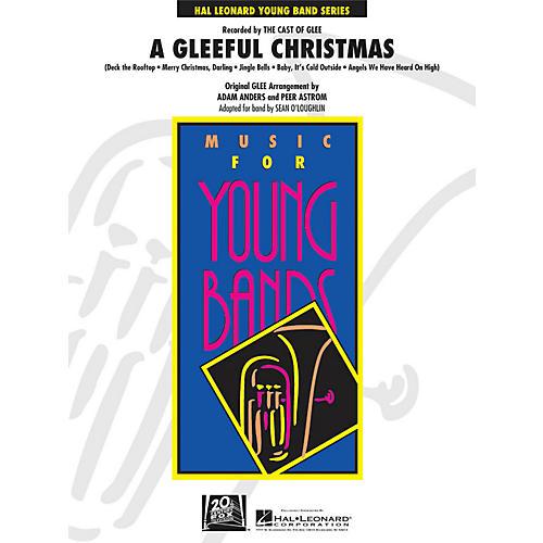 Hal Leonard A Gleeful Christmas - Young Concert Band Series Level 3