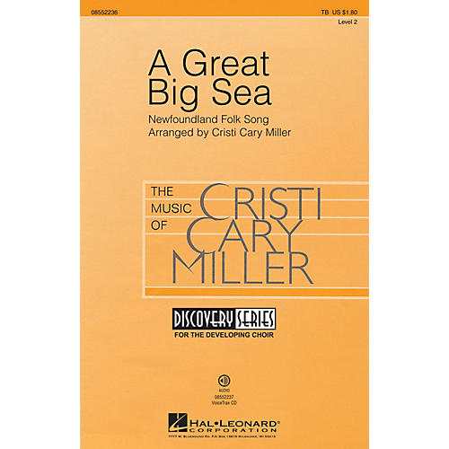 Hal Leonard A Great Big Sea (Discovery Level 1) TB arranged by Cristi Cary Miller-thumbnail