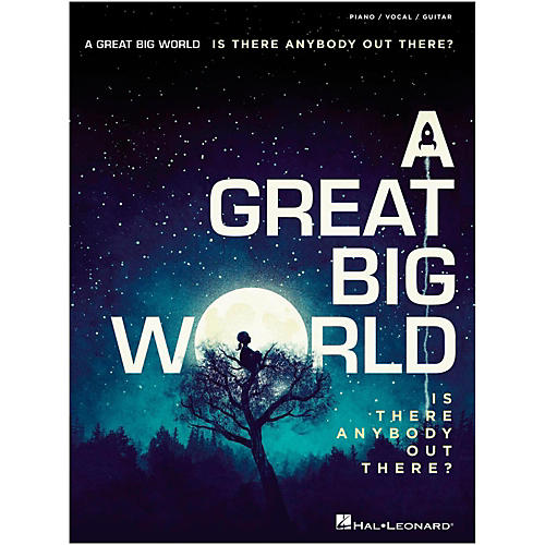 Hal Leonard A Great Big World - Is There Anybody Out There? For Piano/Vocal/Guitar-thumbnail