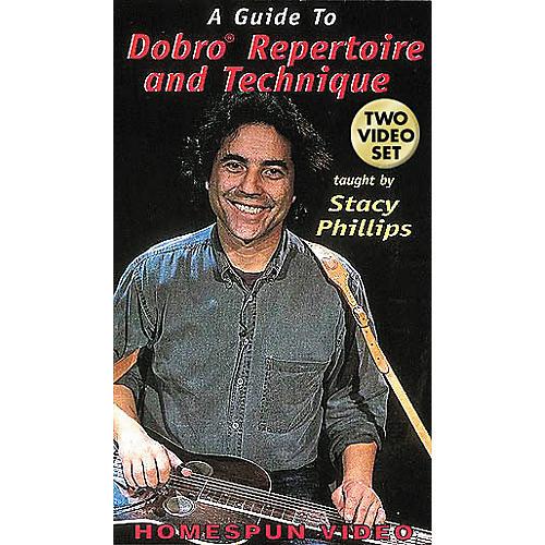 Hal Leonard A Guide to Dobro Repertoire and Technique - 2-Video Set