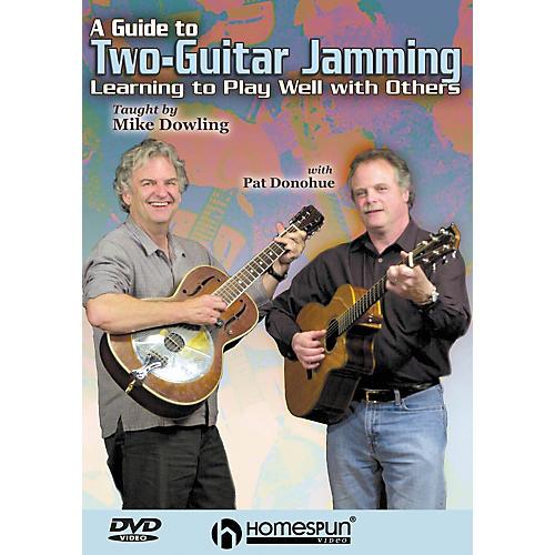 Homespun A Guide to Two-Guitar Jamming (DVD)