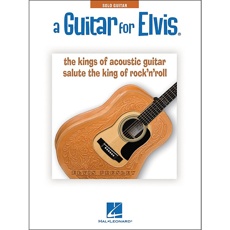 Hal LeonardA Guitar For Elvis - Acoustic Guitar Instrumentals