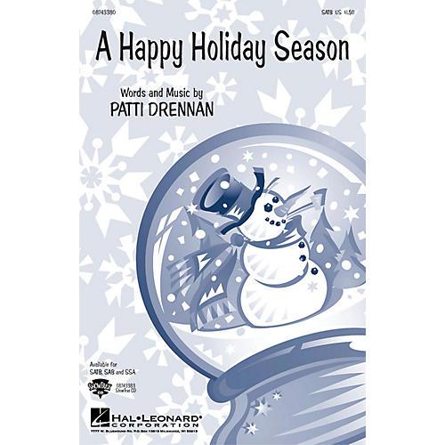 Hal Leonard A Happy Holiday Season SSA Composed by Patti Drennan-thumbnail