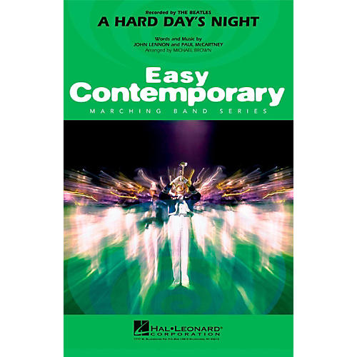 Hal Leonard A Hard Day's Night - Easy Pep Band/Marching Band Level 2-thumbnail