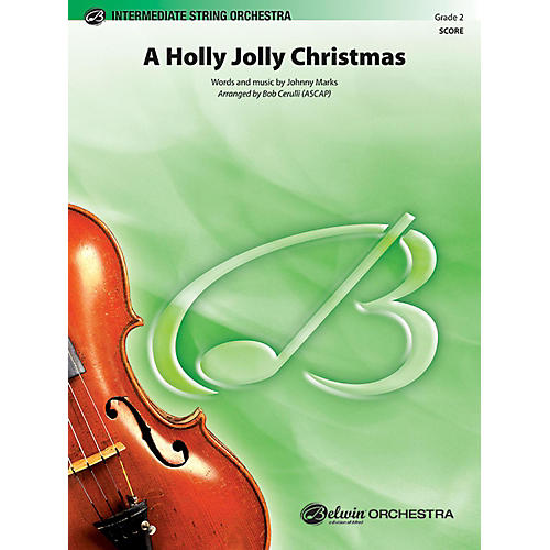 BELWIN A Holly Jolly Christmas Grade 2-thumbnail