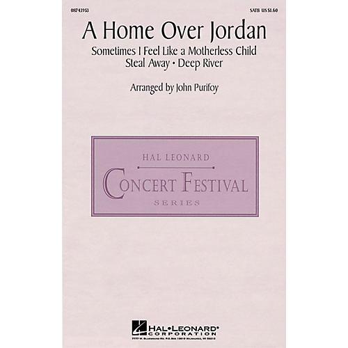 Hal Leonard A Home Over Jordan SATB arranged by John Purifoy-thumbnail