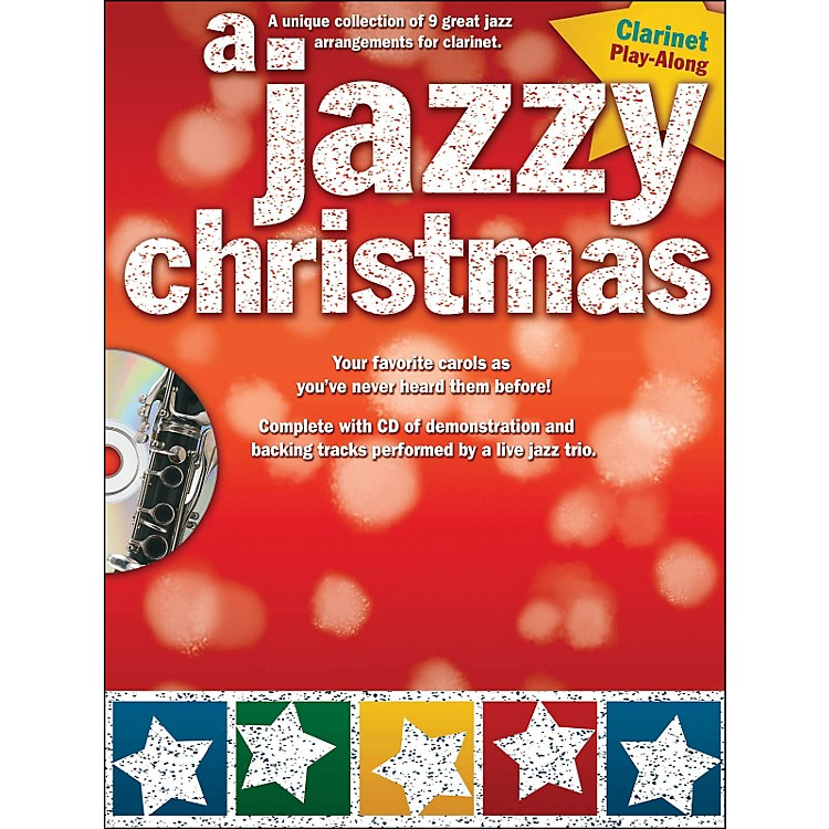 Hal Leonard A Jazzy Christmas - Clarinet Play-Along Book/CD