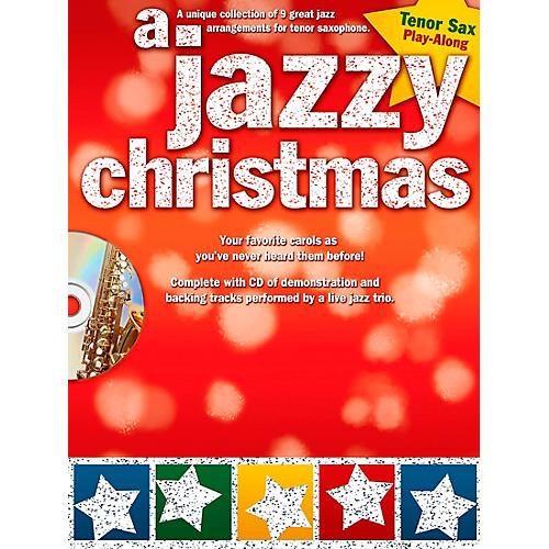 Hal Leonard A Jazzy Christmas - Tenor Sax Play-Along Book/CD-thumbnail