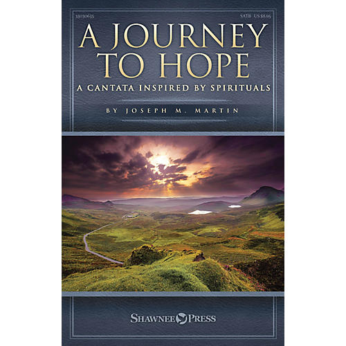 Shawnee Press A Journey to Hope (A Cantata Inspired by Spirituals) Studiotrax CD Composed by Joseph M. Martin-thumbnail