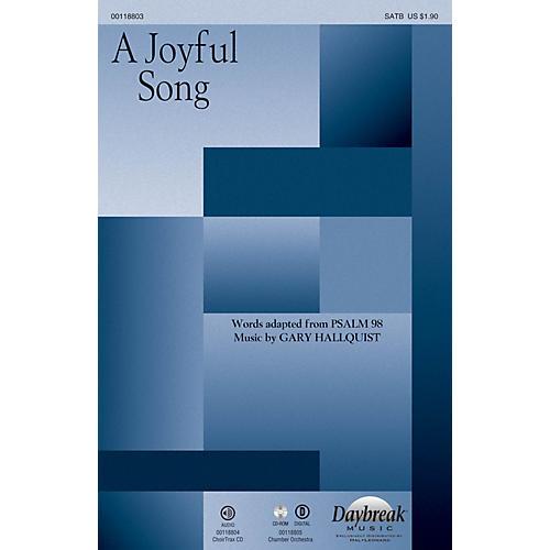 Daybreak Music A Joyful Song CHOIRTRAX CD Composed by Gary Hallquist-thumbnail