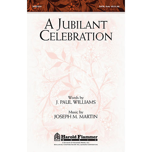 Shawnee Press A Jubilant Celebration (with O God, Our Help in Ages Past) SATB composed by J. Paul Williams-thumbnail