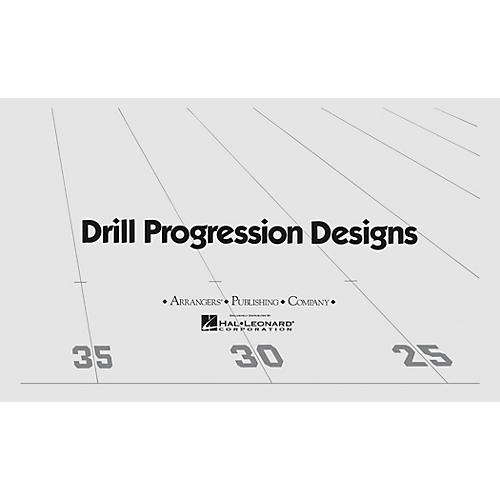 Arrangers A La Lune (Drill Design 55) Marching Band-thumbnail