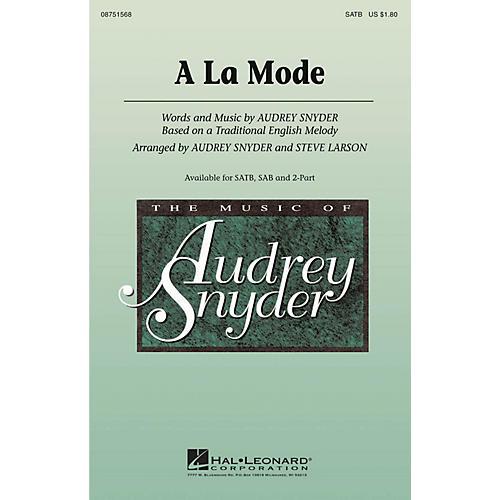 Hal Leonard A La Mode 2-Part Arranged by Audrey Snyder-thumbnail