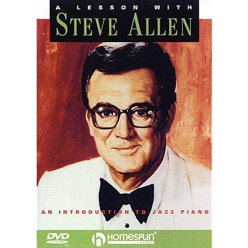 Homespun A Lesson with Steve Allen Instructional/Guitar/DVD Series DVD Performed by Steve Allen-thumbnail