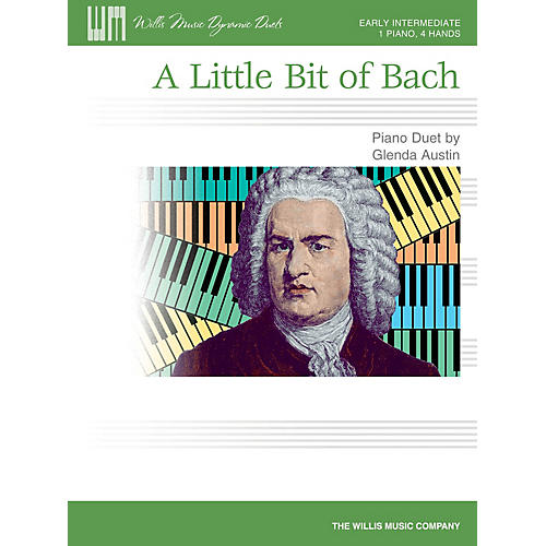 Willis Music A Little Bit of Bach Willis Series by Glenda Austin (Level Early Inter)-thumbnail