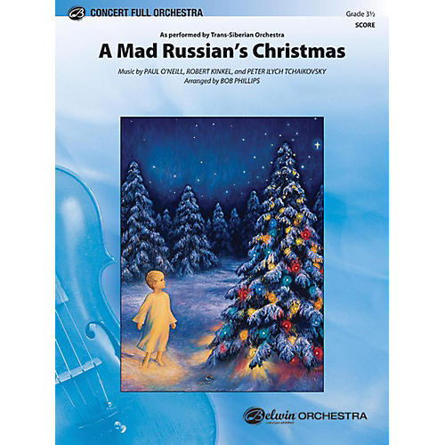 Alfred A Mad Russian's Christmas Full Orchestra Grade 3.5-thumbnail