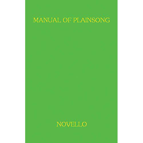 Music Sales A Manual Of Plainsong Music Sales America Series-thumbnail