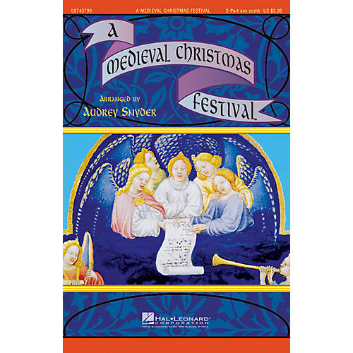 Hal Leonard A Medieval Christmas Festival 2-Part any combination arranged by Audrey Snyder-thumbnail