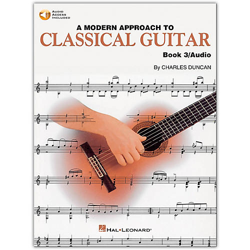 Hal Leonard A Modern Approach to Classical Guitar 3 (Book/CD)