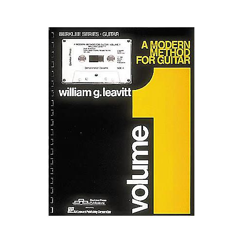 Berklee Press A Modern Method for Guitar - Volume 1 (Book/Cassette)
