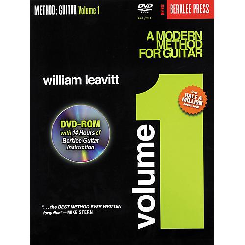 Berklee Press A Modern Method for Guitar - Volume 1 (Book/DVD-Rom)-thumbnail