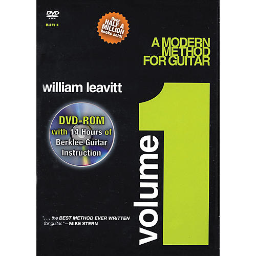 Berklee Press A Modern Method for Guitar - Volume 1 (DVD-ROM)