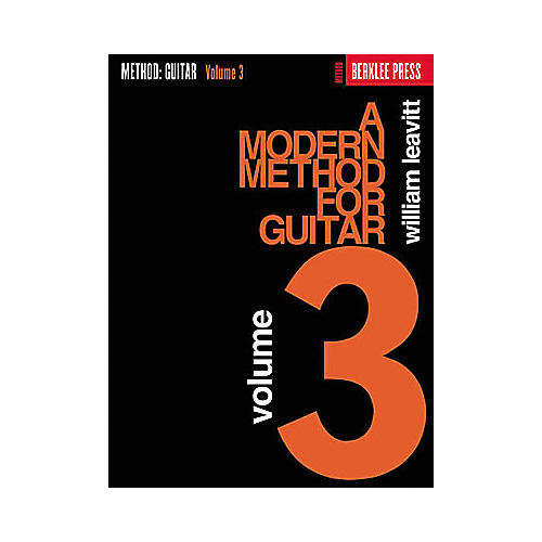 Berklee Press A Modern Method for Guitar - Volume 3 Book