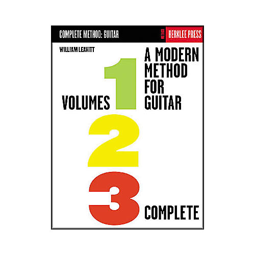 Berklee Press A Modern Method for Guitar - Volumes 1, 2, 3 Complete Book