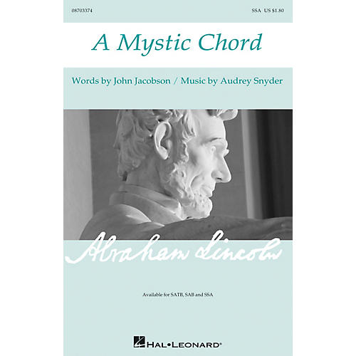 Hal Leonard A Mystic Chord SSA composed by Audrey Snyder
