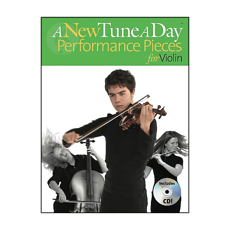 Music Sales A New Tune A Day Performance Pieces for Violin Book/CD