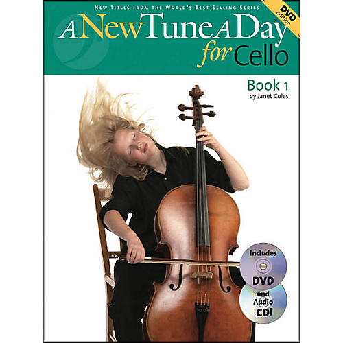 Music Sales A New Tune A Day for Cello Book 1 with DVD And Audio CD