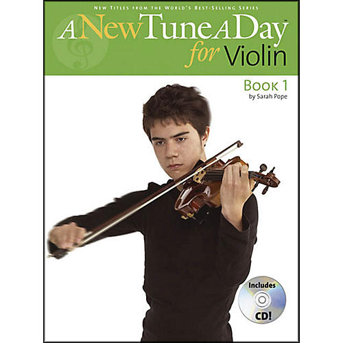 Music Sales A New Tune A Day for Violin Book/CD-thumbnail