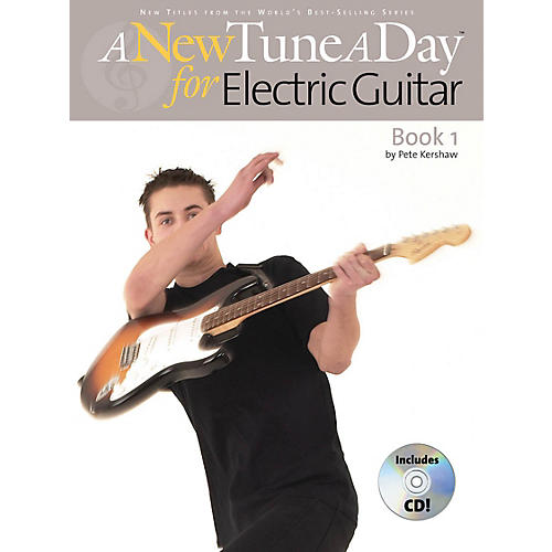 Music Sales A New Tune a Day - Electric Guitar, Book 1 Music Sales America Series Softcover with CD by Pete Kershaw-thumbnail
