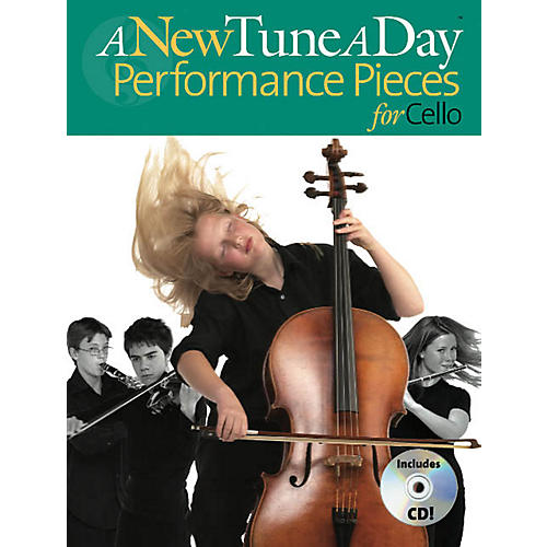 Music Sales A New Tune a Day - Performance Pieces for Cello Music Sales America Series Written by Ned Bennett-thumbnail