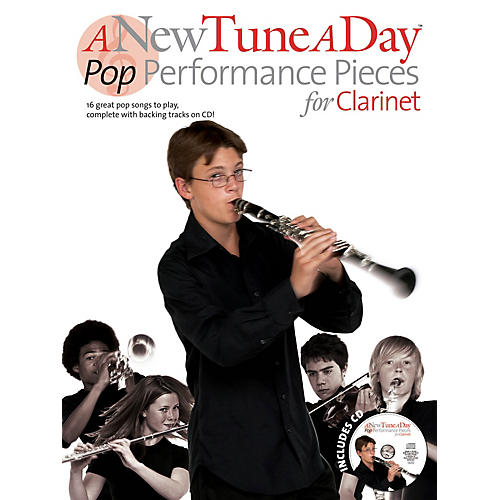 Music Sales A New Tune a Day - Pop Performances for Clarinet Music Sales America Series BK/CD-thumbnail