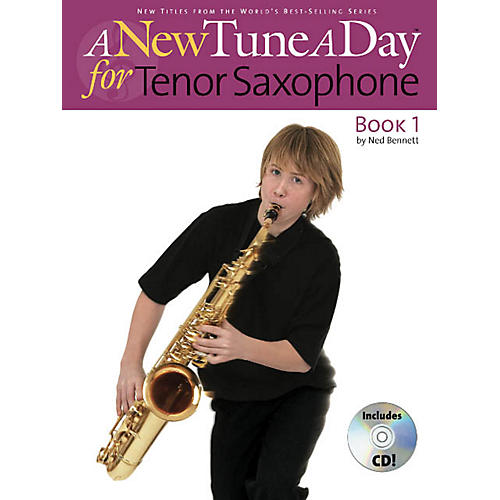 Music Sales A New Tune a Day - Tenor Saxophone, Book 1 Music Sales America Series Book with CD by John Blackwell-thumbnail