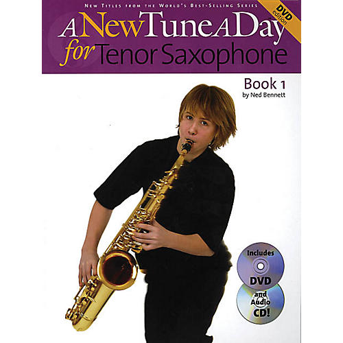 Music Sales A New Tune a Day - Tenor Saxophone, Book 1 Music Sales America Series Written by John Blackwell-thumbnail